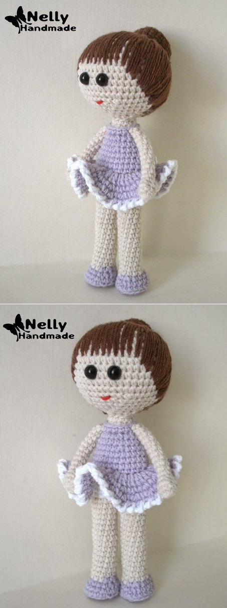 Knitted doll. Description.