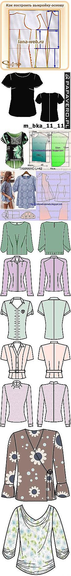 Search on Postila: patterns of blouses