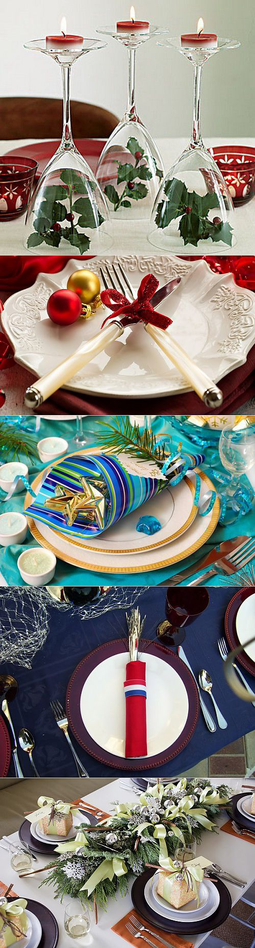 Jewelry for a New Year's table: easy ways and original ideas \/ Simple recipes